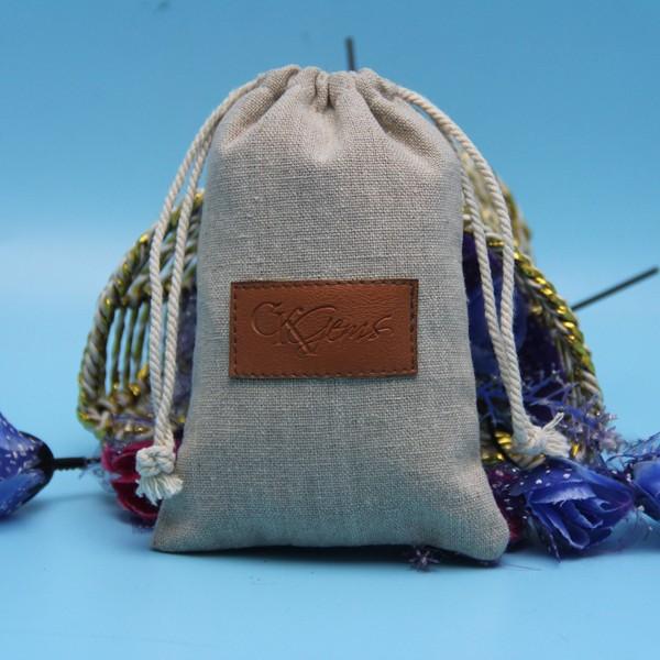 customized logo hand made zane jute bags wholesale lined