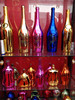 Fancy Color Empty Electroplate Glass Bottles for Vodka Whiskey and Brandy