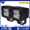 Best-selling 4wd led driving work lights 3 Inch Led Headlamps square led driving lights