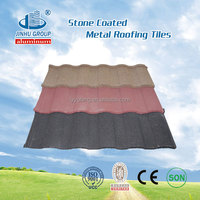 Decorative Stone Coated Metal Villa Roof Tile .colorful stone coated steel Roof sheet..Luxury Metal Roofing tiles .