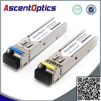 sfp bidi ddm fiber optical module GLC-FE-100BX-D 155Mb/s 20km 1310/1550