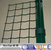 [Runtan]50x100mm,50x75mm ,50mmx100mm Plastic Coated Welded Wave Wire Mesh Fence For Sales