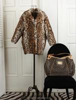 Sexy rabbit fur coat /The women winter coat / New fashion fur coat