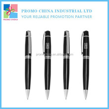 High Quality OEM Customized Hotel Metal Twist Pen With Branded Logo