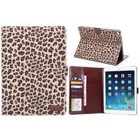 Leopard ultra thin leather case for ipad air 2