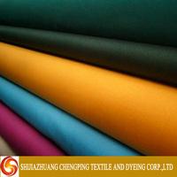 woven 100% cotton and TC Poplin construction characteristics