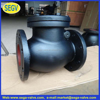 grinding machine of seat of valve Cast iron swing check valve