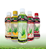 Famous brand houssy 360ml aloe vera drink peach flavor with honey