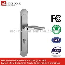 mechanical door handle locking devices