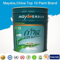 odor-less stain resistance interior emulsion wall flexible building latex paint