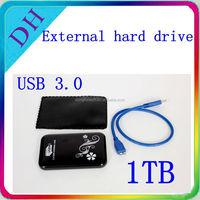 Good quality 2.5 inch sata external hdd transcend 1 tb usb 3.0