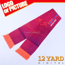 Bulk sales knit scarf, customize activity gift for customers, small amounts OEM scarf