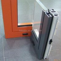 Commercial Glass Entry Exterior Sliding Doors For Sale With Grid Designs & NZ Fodoudou Aluminium Sliding Window