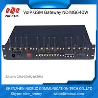 Gsm wifi wireless gateway with 64 sim card