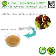 Manufactory Price, Plant Extract Pure Natural Horse Chestnut Extract Powder Escin 20%, 98%