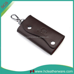 New Stylish Promotional Gift Portable Pu Leather Keys Bags Manufacturers
