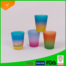 shot glass with different colors,glassware,products made in China