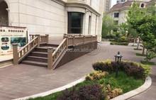 Durable Solid WPC Garden Fence Eco-friendly Wood Plastic Composite Railing Images