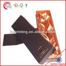 Wine Bottle Pattern Paper packaging Box