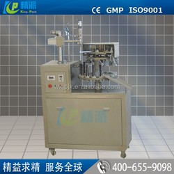 Easy operate KP small semi automatic aluminum tube filling and sealing machine
