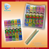 Mix fruit cc stick sweets for children