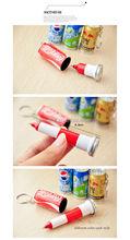 Hot Sale Mini Creative Cans Ballpen/ Stretchy Ballpen/KeychainPen
