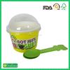 custom logo printed frozen yogurt cup wholesale china