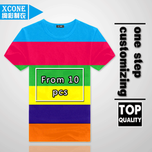 xc10-01unisex blank cotton lycra fabric t shirt high quality plain t-shirt