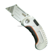 Stainless Steel Box Cutter Safety Utility Knife Folding