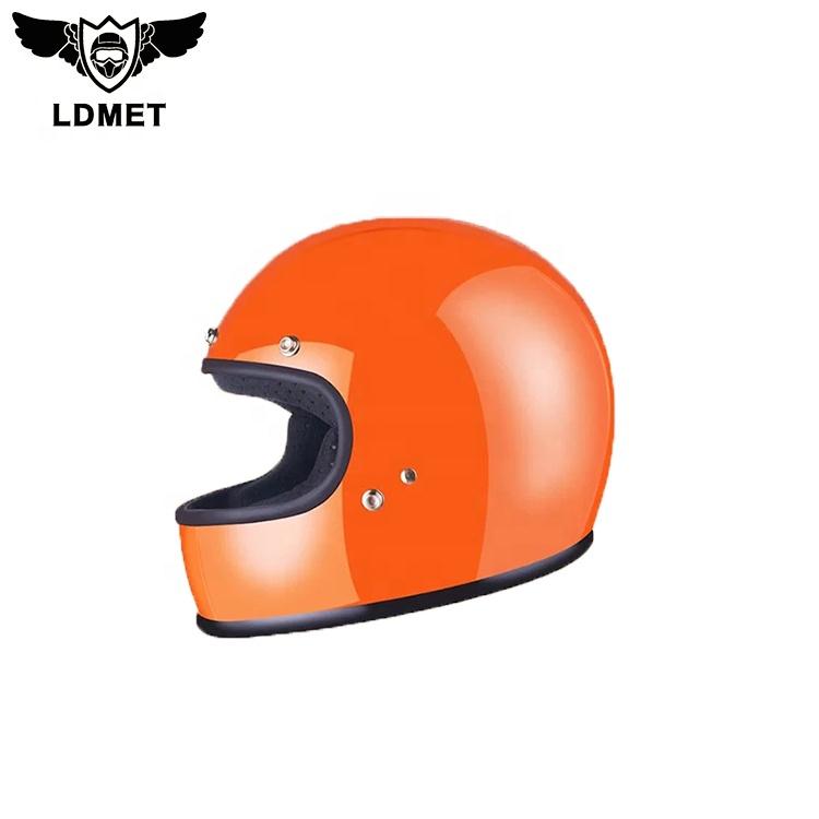 ファイバーグラスオートバイフルフェイスヘルメット DOT 、 ECE CE 証明書革ヘルメット