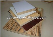 China low price melamine faced plywood sheet