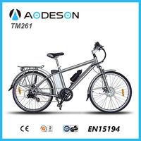 "Hot selling 26"" MTB aluminium e cycle electric bike mountain bike-AODESON-TM261"