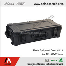 45-13 black plastic hard gun case