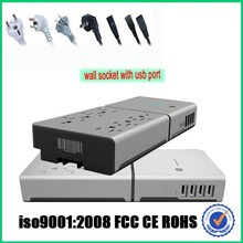 Power strip with multi usb port,for tablet mobile power strip with multi port,for macbook pro multi port wall socket