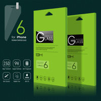 Japan Anti-Scratch tempered glass screen protector for Iphone6
