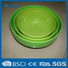 plastic melamine soup bowl