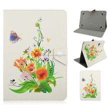 Newest Coloured Paintings Design Synthetic Leather Case Cover for 7/10 inch Apple iPad Air