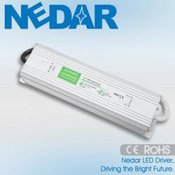 2015 Custom Design 50W LED Switching Power Supply Waterproof IP68 Outdoor Lighting Power Supply