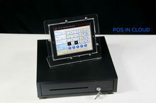 iPad Desktop Acrylic Stand Holder for Kiosk Display Fit Square CC Reader