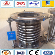 stainless steel metal bellows expansion joint with tie rods
