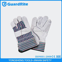 """GuardRite brand 10.5"""" mig safety leather welding gloves factories cut finger factory"""