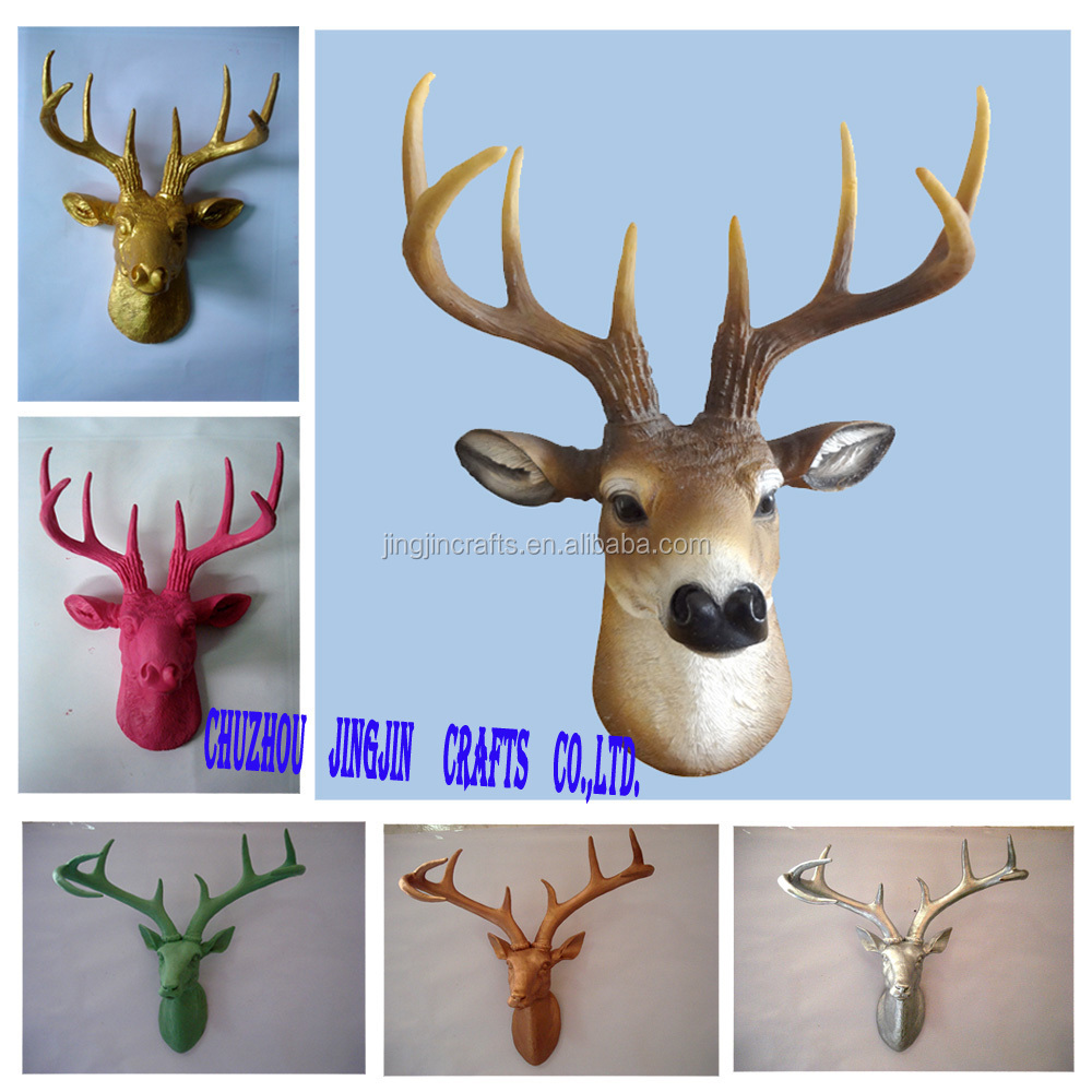 wall-mounted deer head.jpg