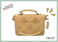 2015 China Supplier Fashion and Casual Pattern Leather Handbag