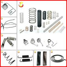 Customed Black Elastic coil spring