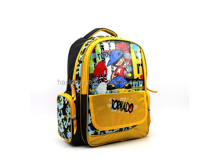 Coutume de dernière mode drôle sacs d'école