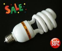 good quanlity energy saving lamp/lighting/bulb half spiral made china manufacture jiangxi with CE ROHS ISO9001