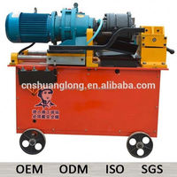 dia 40mm steel bar rib peeling thread rolling machine with spare parts