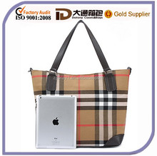 2015 Hot Sale Old Fashioned Lady Handbag Women Promotional Canvas Tote Shoulder Messenger Bag