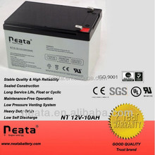 12v 10ah / 12ah flooded lead acid battery