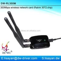 Shenzhen manufacturer 802.11n 300mbps wireless usb adapter